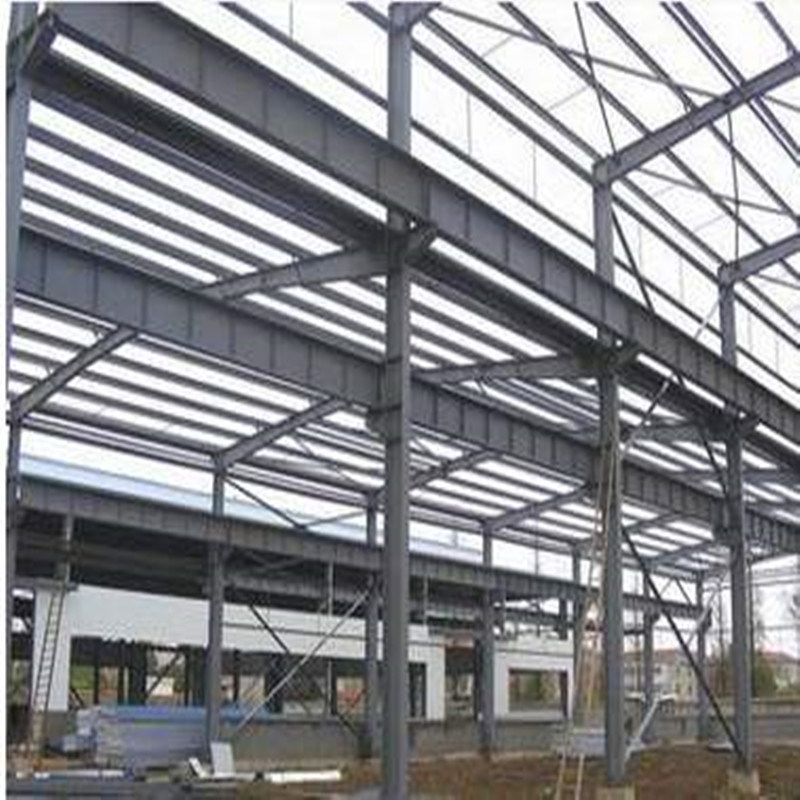 Light Painted Steel Structure Workshop Construction Formwork pictures & photos