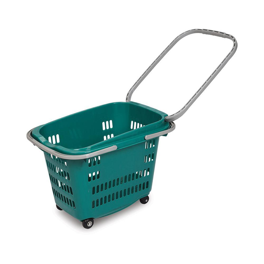 Flexible Lady Used Hot Selling Portable Plastic Shopping Basket pictures & photos