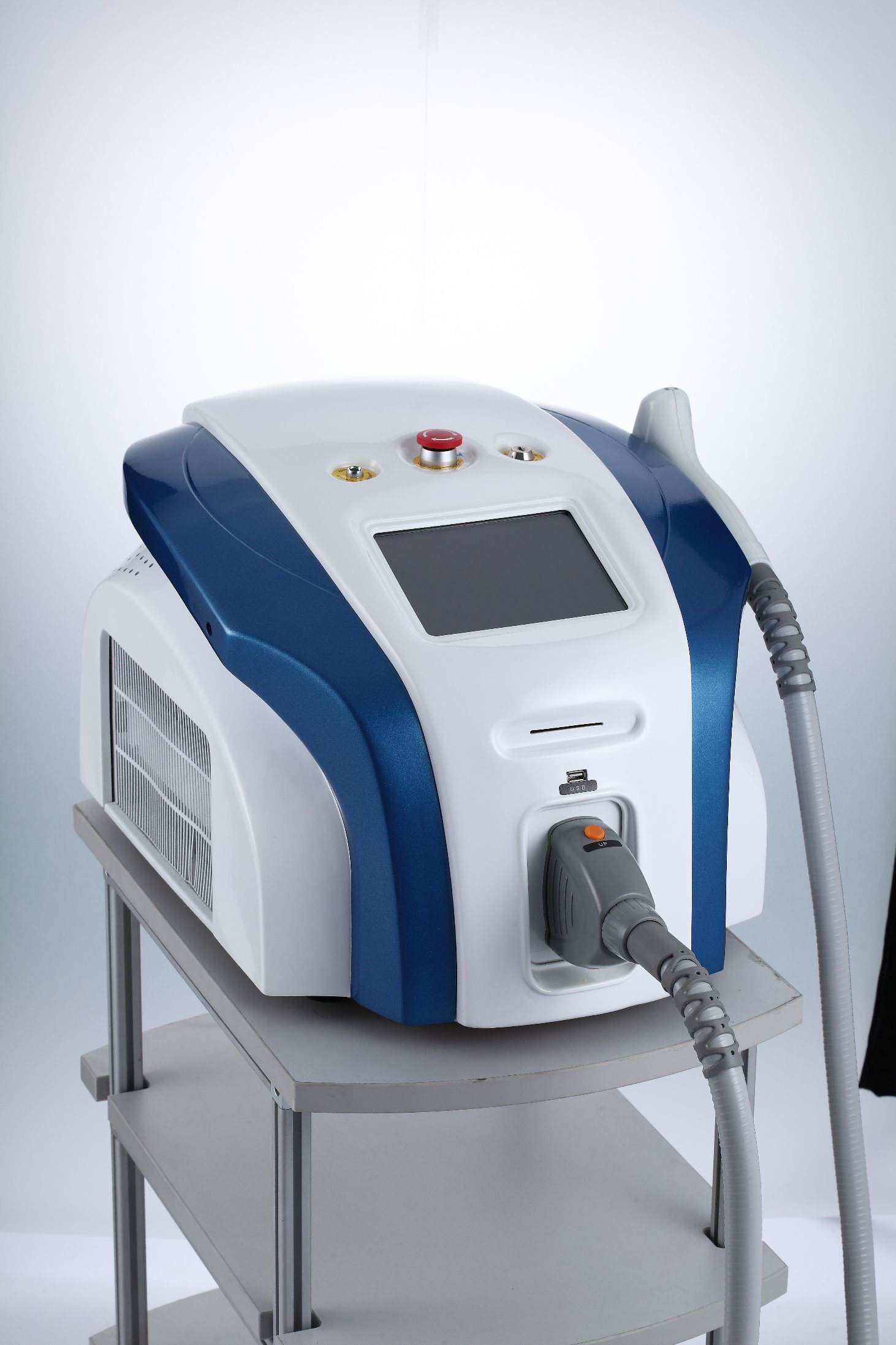 Medical Ce Approved Magic Floor Standing Commerical Laser Hair Removal Machine pictures & photos