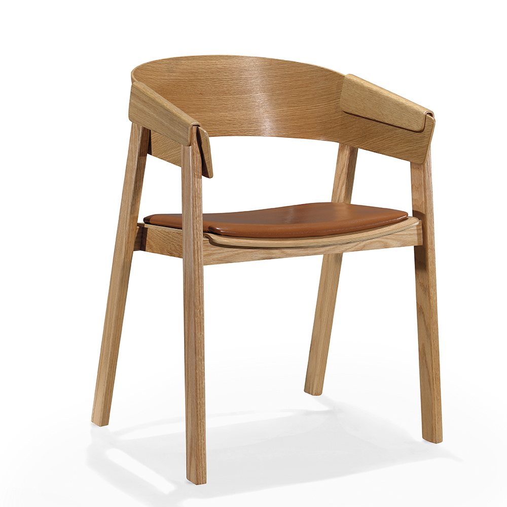[Hot Item] Commercial Solid Beech Wood Chair Modern Design Dining Chair for  Restaurant