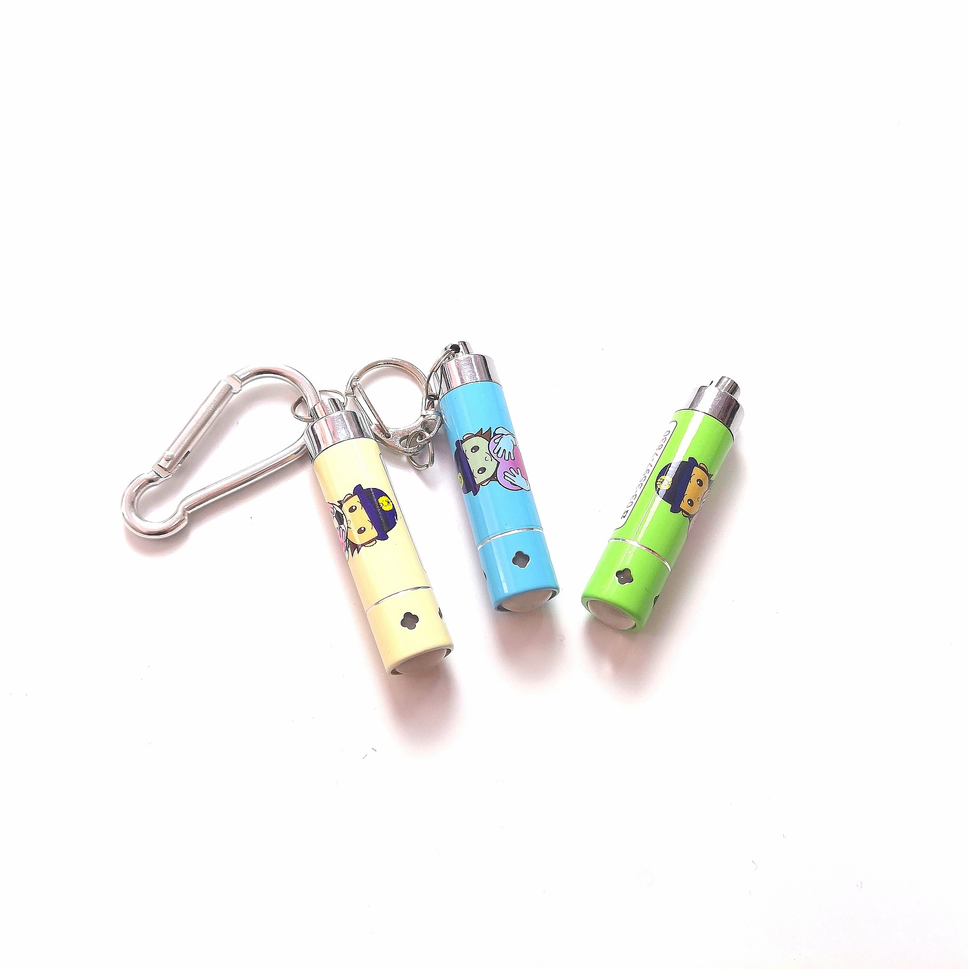 Colorful LED Tiny Flashlight Promotional Gifts Key Chain pictures & photos