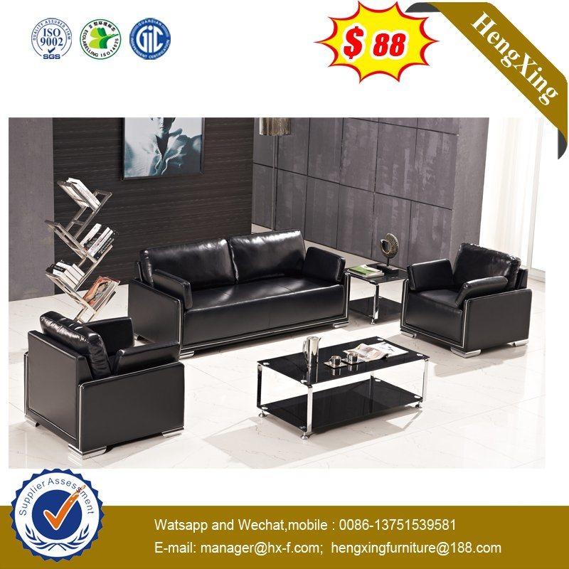 Amazing Hot Item Fashion Furniture Black Leather Club Office Sofa Sets Hx S313 Interior Design Ideas Gentotryabchikinfo