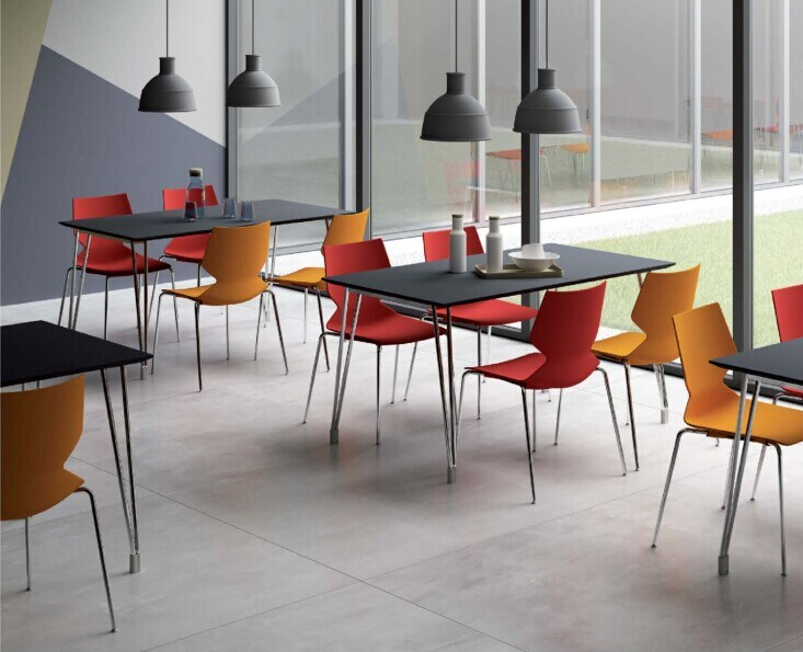 [Hot Item] Hot Sale High Quality Stainless Steel Dining Room Table and Chair