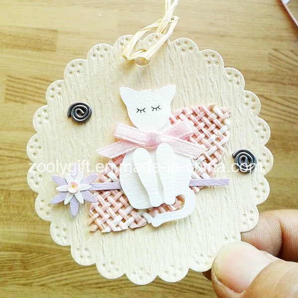 Printing Hanging Decorative Tag / Handmade Printed Animal DIY Paper Craft pictures & photos