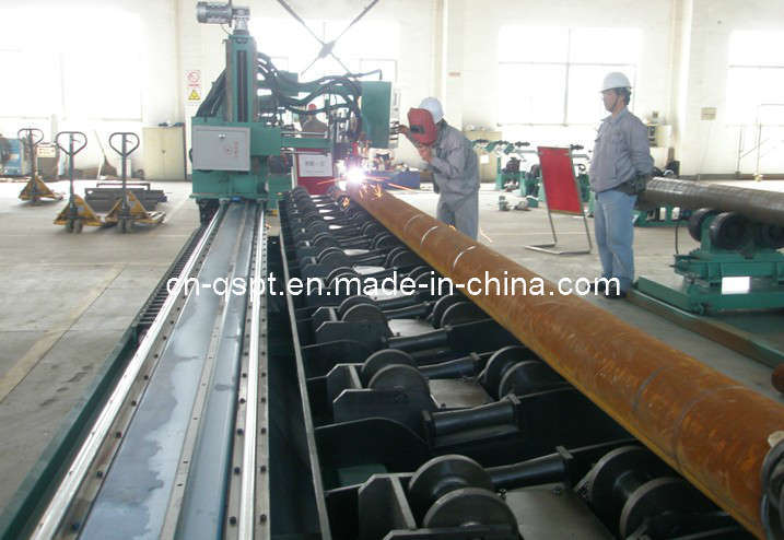 CNC Pipe Flame/ Plasma Beveling & Cutting Machine (Roller Bench Type) pictures & photos