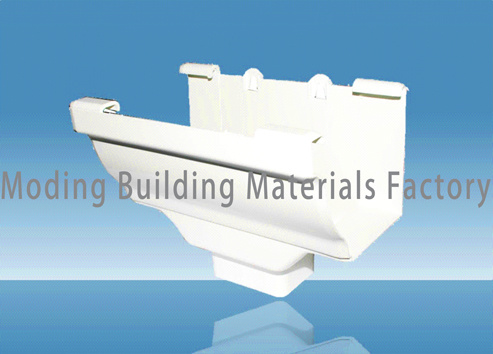 China Pvc Rain Gutter Fitting For Roof Drainage Pvc Pipe