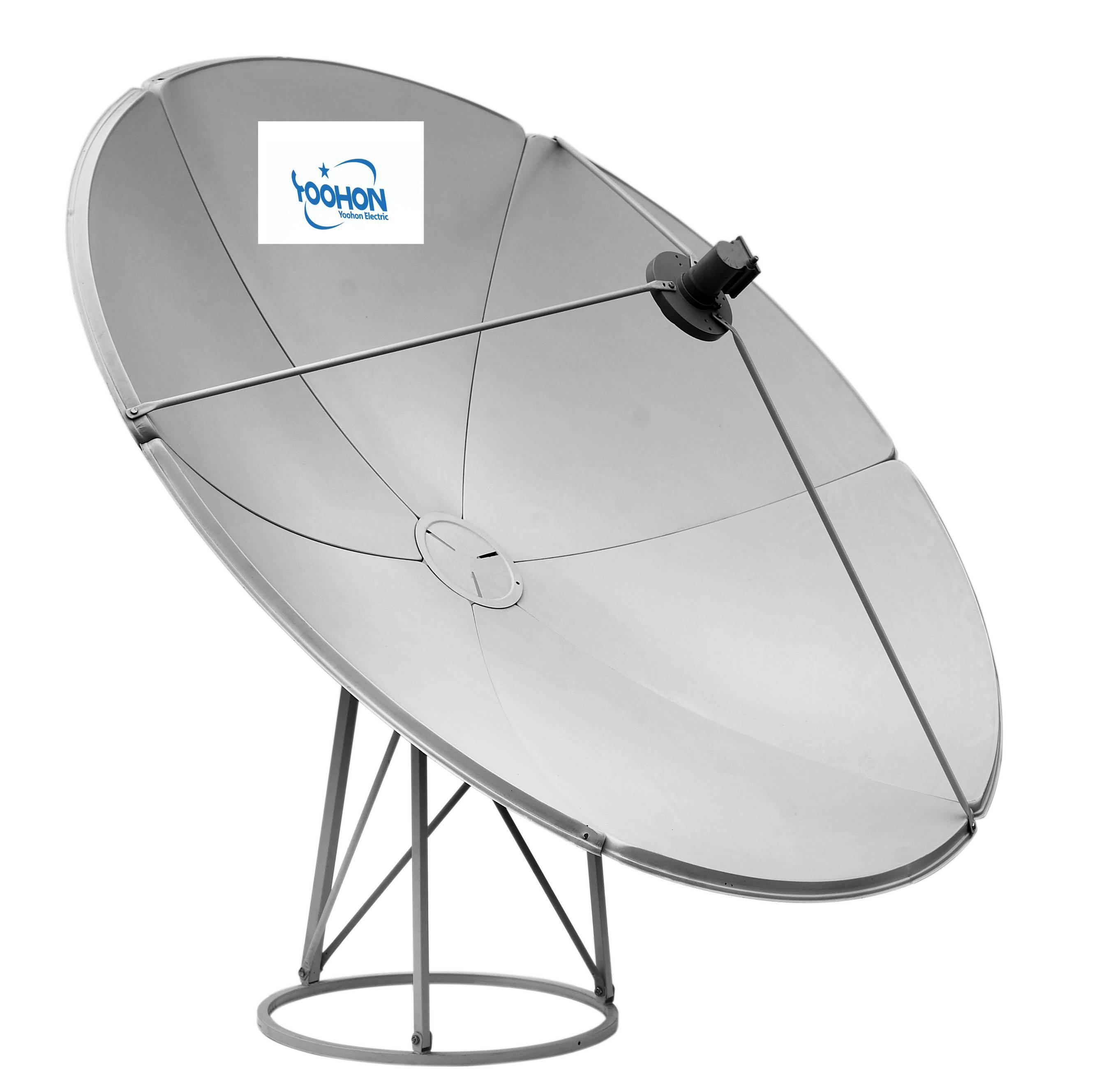 china 2 4m satellite dish antenna ku band china 2 4m satellite
