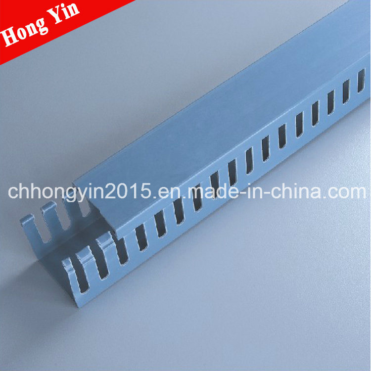 China 20*25 PVC Electrical Wire Casing PVC Flexible Cable Duct ...