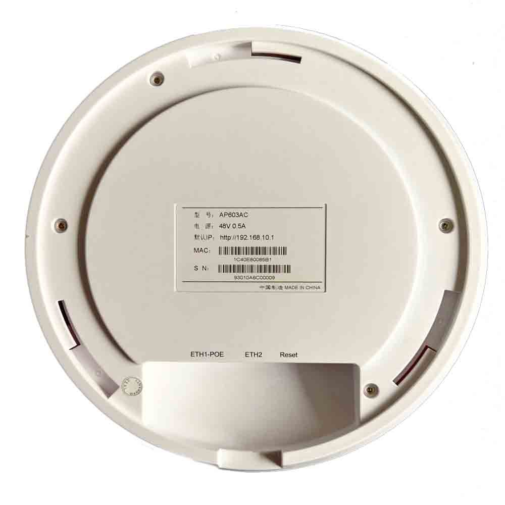 Openwrt 2.4/5.8GHz Dualband Ceiling Wireless Access Point Max up to 750Mbps (603AC) pictures & photos