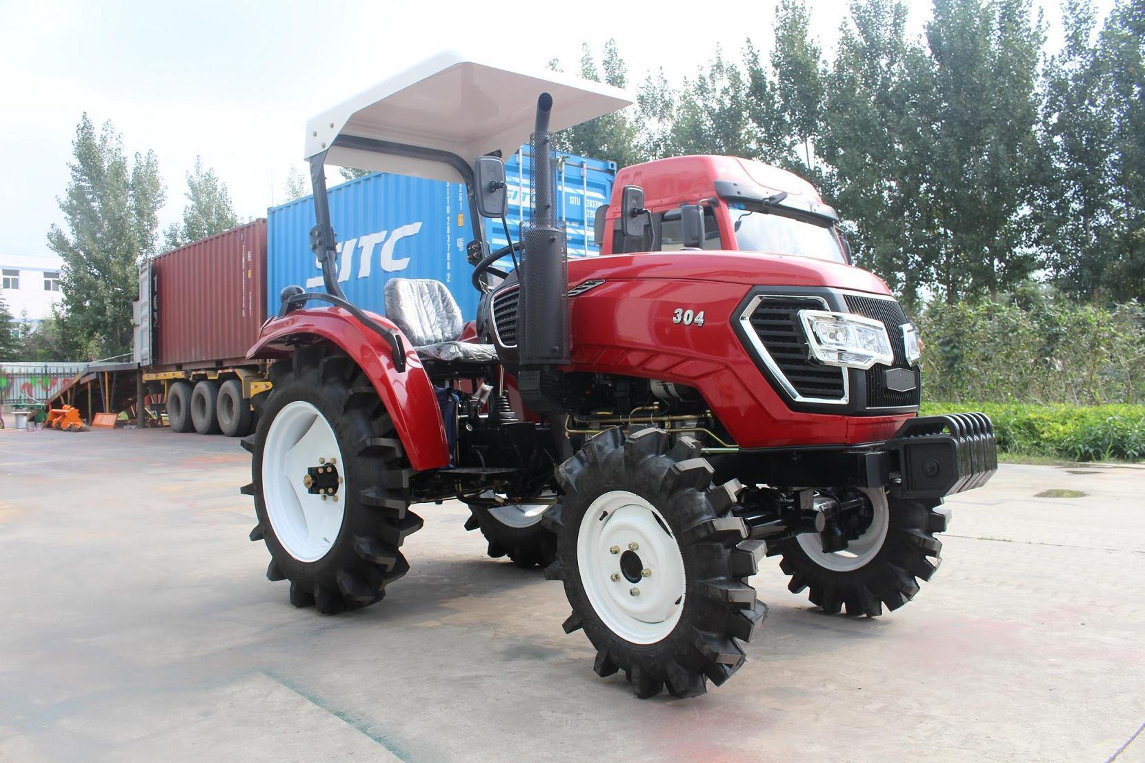 Hot Sales China 30hp 4wd Mini Tractor Kubota China Mini Tractor