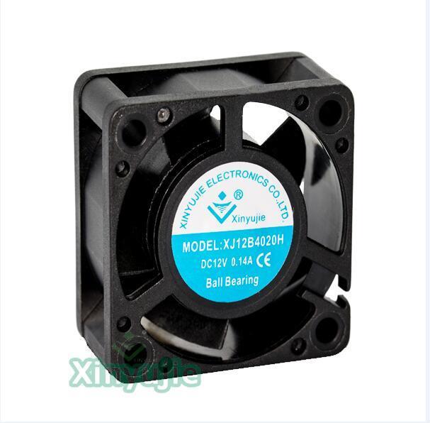 Cooling CPU Computer Fan Ball Bearing Sleeve Bearing 40×20mm DC Brushless S