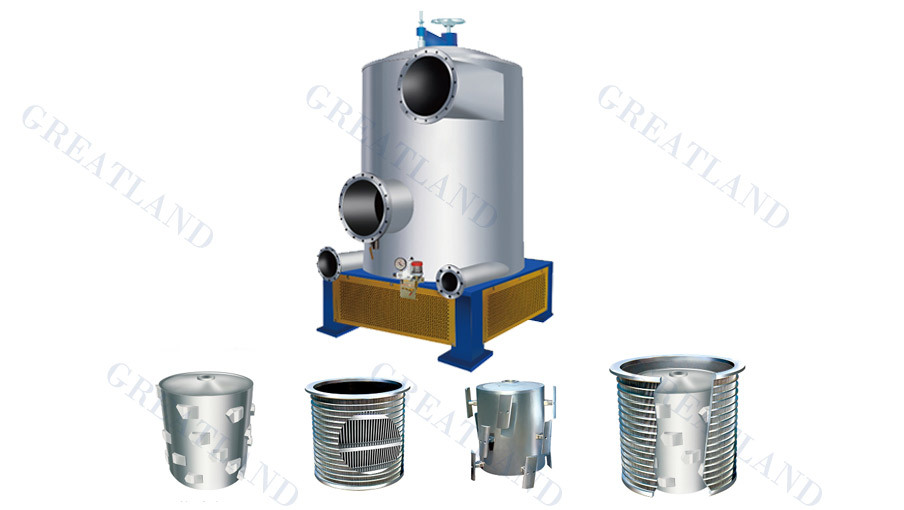 Outflow Pressure Screen for Paper Industry