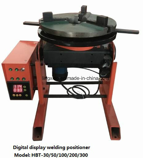 Digital Display Welding Positioner Hbt-30 for Circular Welding pictures & photos