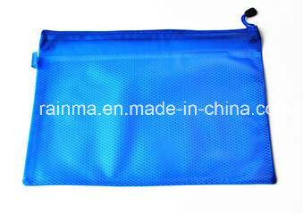 Waterproof File Document Bag Office Supply with Mesh Zipper pictures & photos