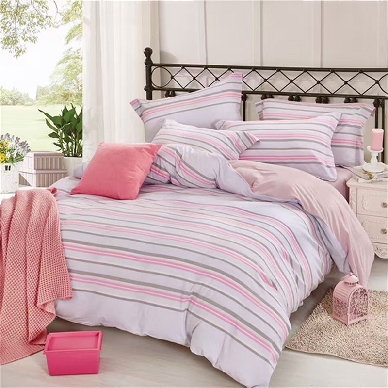 China Organic Earth Super Soft Best Quality Bed Sheets Full Queen And King Sizes Pillow Cover Flat Sheet