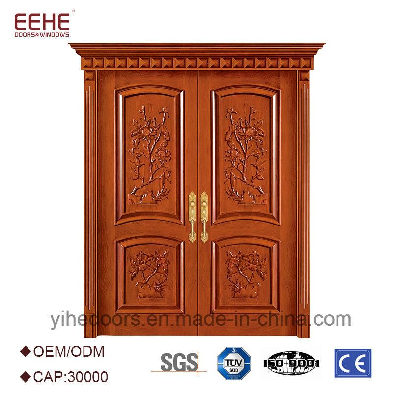 Hot Item Main Double Door Wooden Double Door Designs For Houses In Kerala