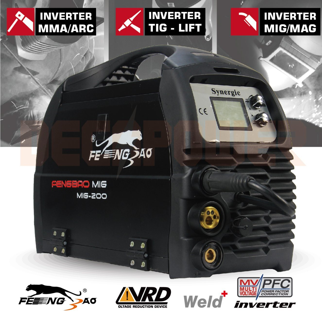 China Ce Approved MIG Flux Core Wire Inverter Welding Machine for ...