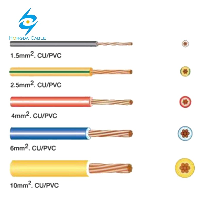 China 600V 12AWG 10AWG Copper Type Thw Tw Electrical Wire Photos ...