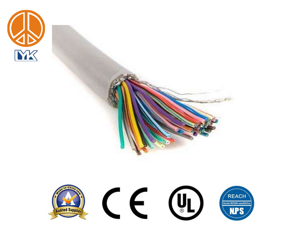 China UL2517 PVC 16AWG 300V VW-1 Multi Conductor Shielded Cable ...