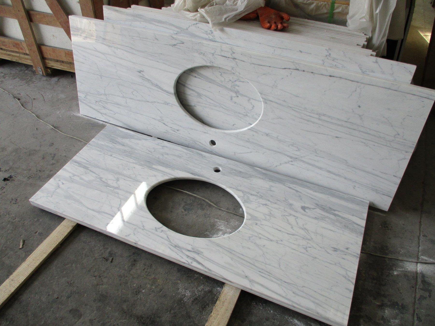 Carrara white grey beige prefab granite marble laminate bathroom natural kitchen island bathroom countertops vanity tops table top