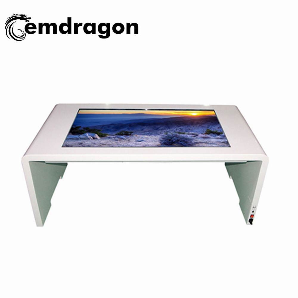 China 43 Inch Multipoints Touch Table Self Service Digital Signage Kiosk With Wifi Advertising Displaymobile Trailerbus