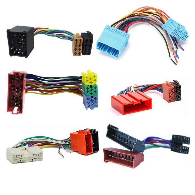 [Hot Item] Wire Harness Manufacturer Custom Car Stereo ISO Cable Harness on car electrical system diagram, car audio battery box, car audio speaker, car stereo harness installation, car audio switches, car audio cover, car audio batteries, car audio engine, car audio mounting hardware, car audio lights, car audio resistor, car radio wiring diagram, car audio fan, car audio compressor, car audio fuse, car audio computer, car audio controller, car audio voltage regulator, car audio power supply, car audio remote control,