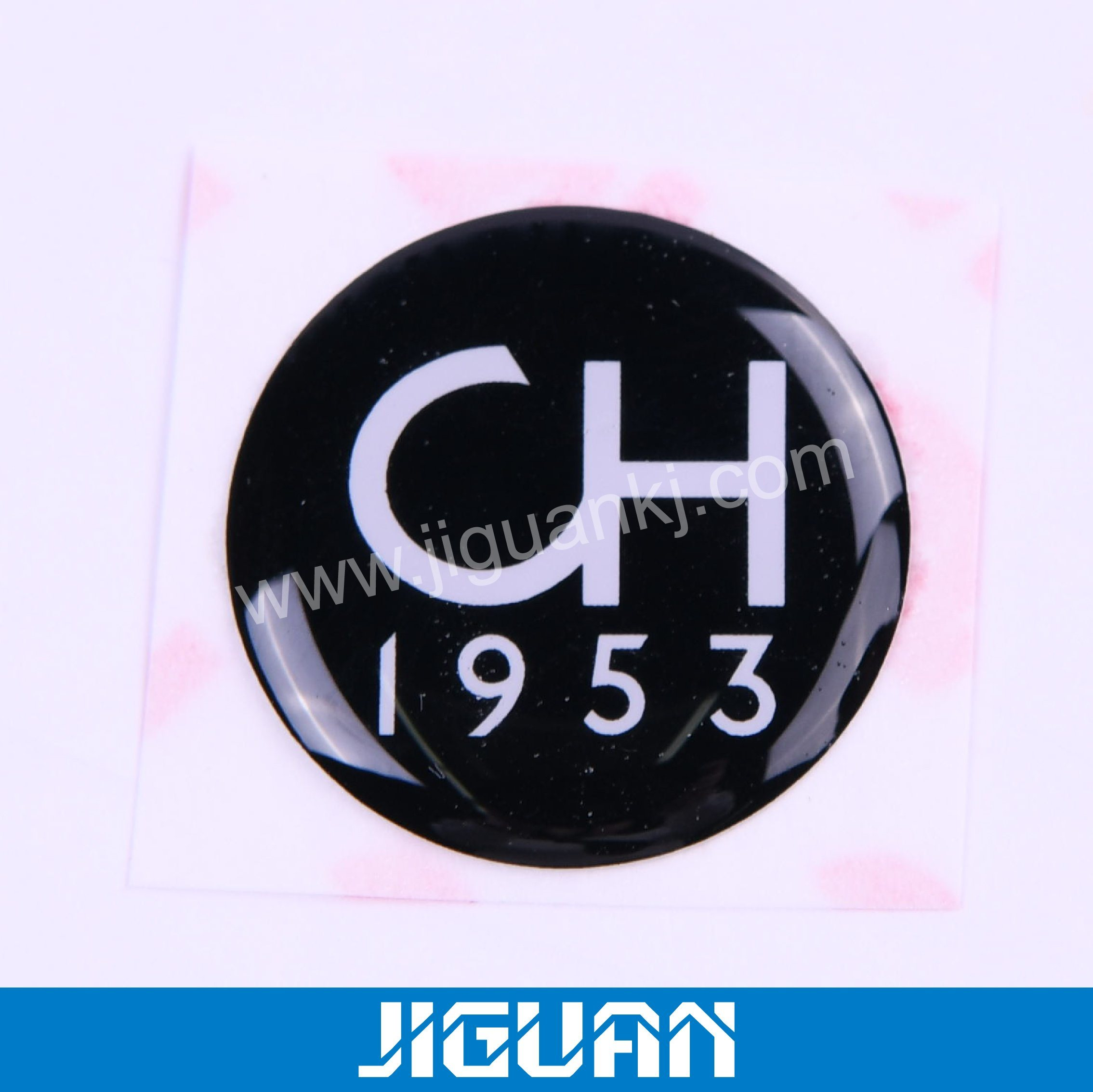 Hot item environmental custom clear epoxy resin dome sticker