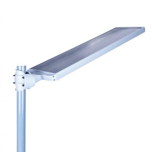 China Latest Design 10w Wireless Control Solar Street Light Lamp Intelligent Solar Lighting System China Solar Street Lamp Energy Saving Lamp