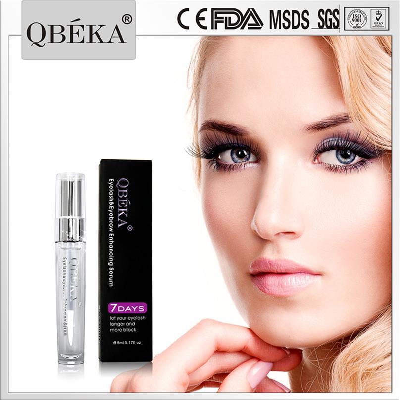 China 2017 Best Eyelash Eyebrow Serum Qbeka Eyelash Brow Growth