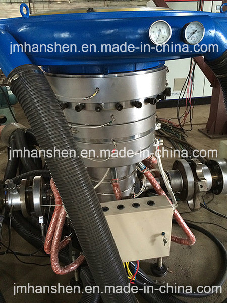 Die-Head Rotary Plastic PE Film Blowing Machine pictures & photos