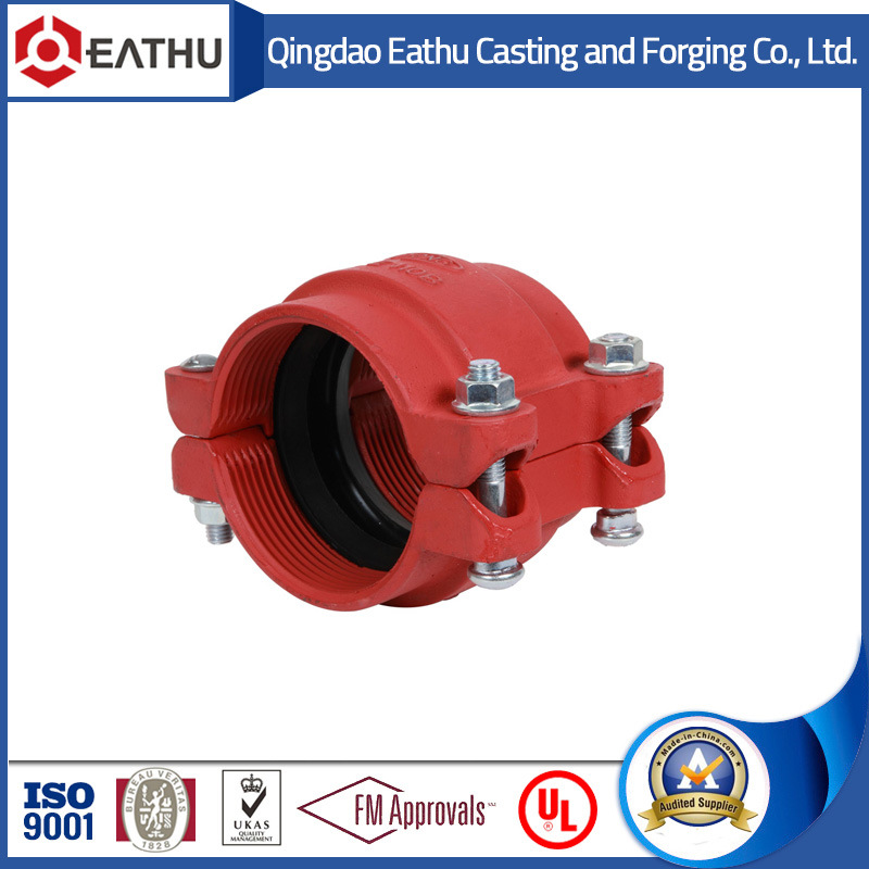 Ductile Iron Grooved Pipe Fittings Used in Fire Fighting System pictures & photos