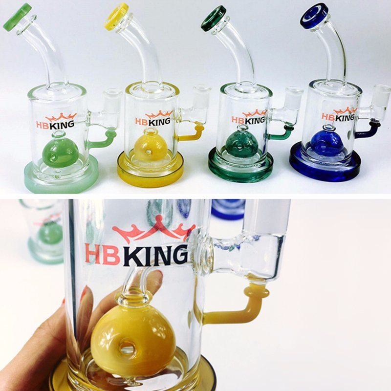 Hbking Stock Products Flared Straight Tube Glass Water Pipes Oil Rigs Water Pipes Glass Smoking Pipes pictures & photos