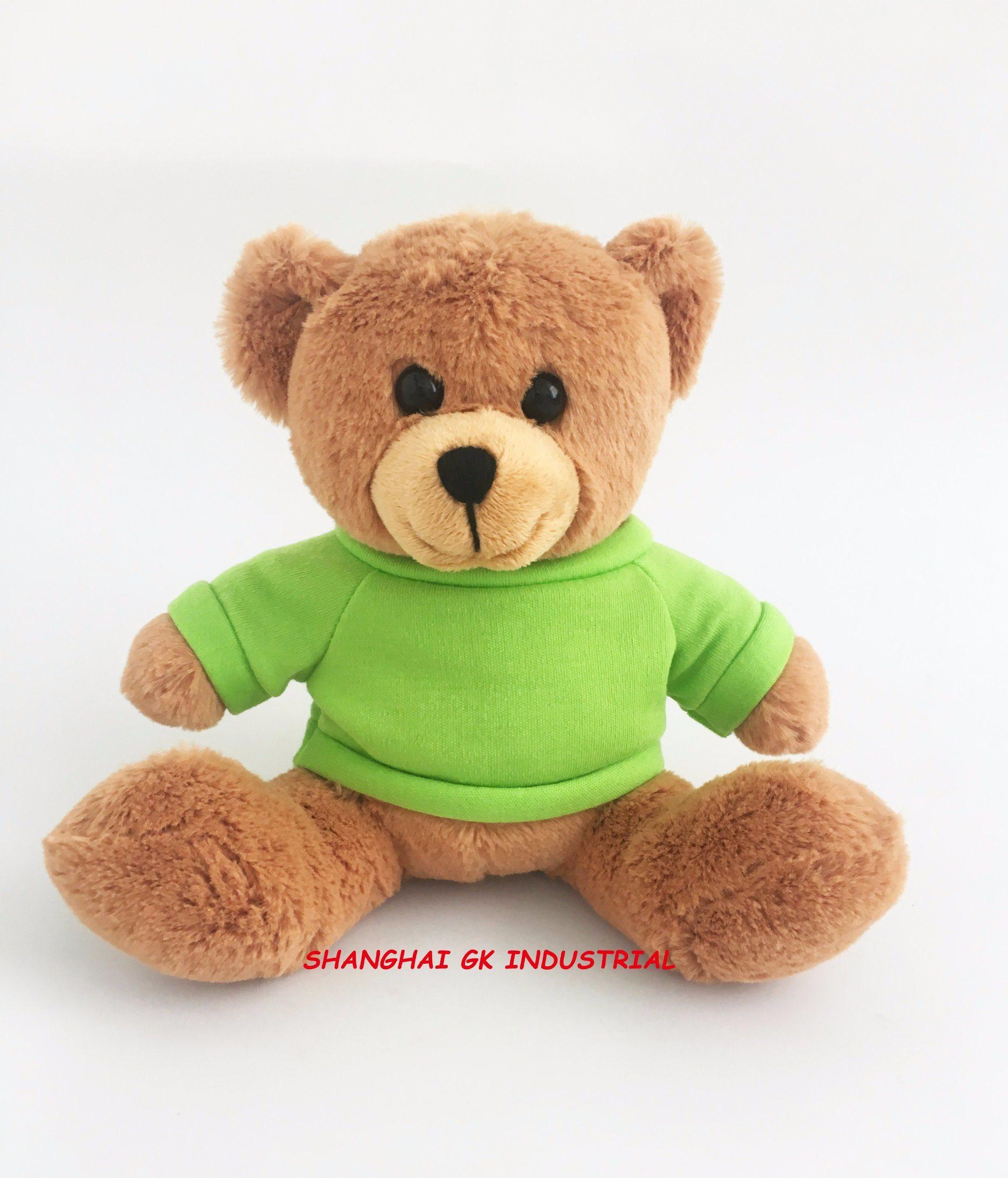2a94e50c7367 China Plush Teddy Bear Cute Plush Teddy Bear with Green T-Shirt - China Teddy  Bear, Plush Toy