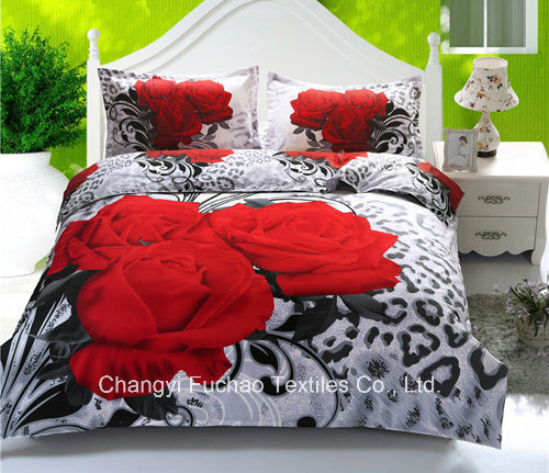 3D Printed Luxury Microfiber Bedding Set pictures & photos