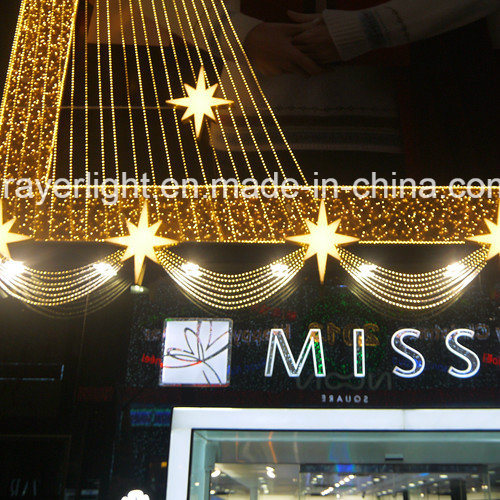 High Quality Ping Mall Hotel Led Curtain Decorations For A