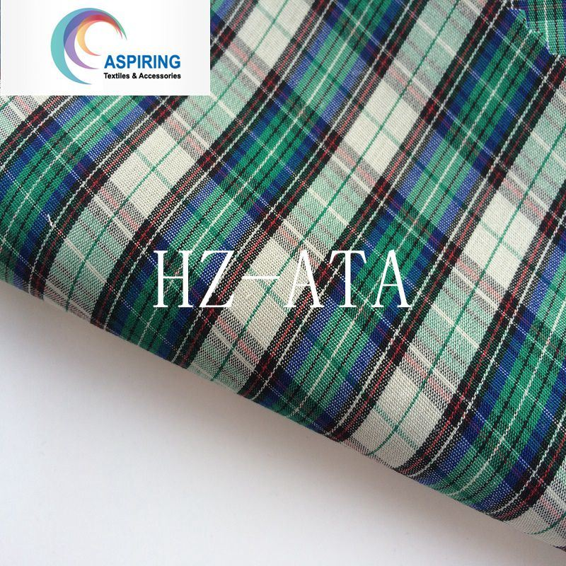 0f04d88f5d5 [Hot Item] Cotton Fabric Rolls 100% Cotton Yarn Dyed Shirting Fabric