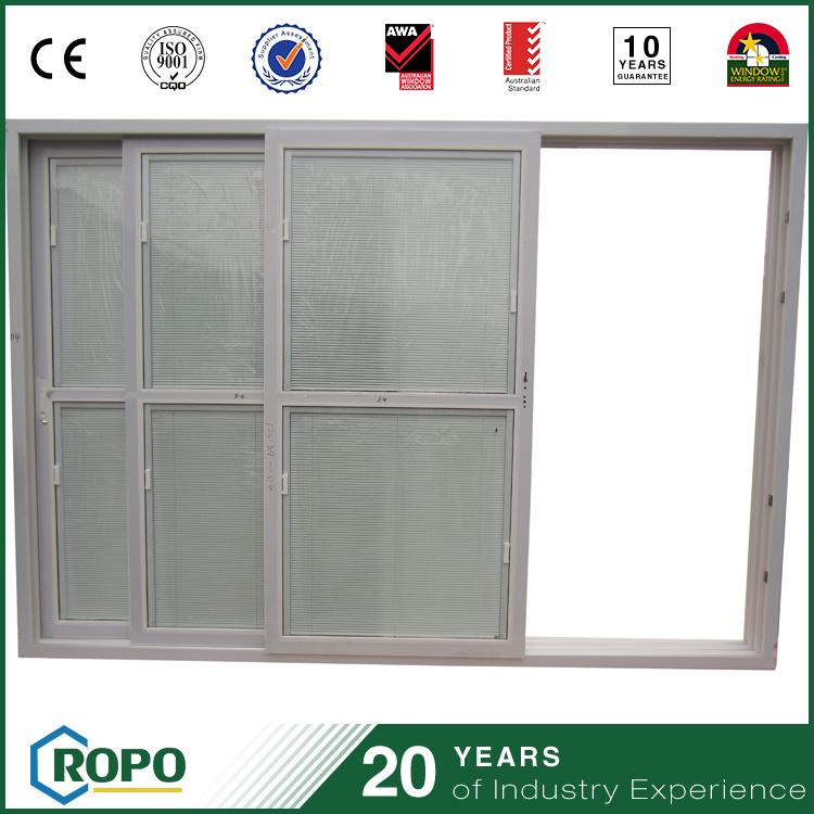 China Pvc Double Glazed Interior Sliding Door For Patio And Balcony