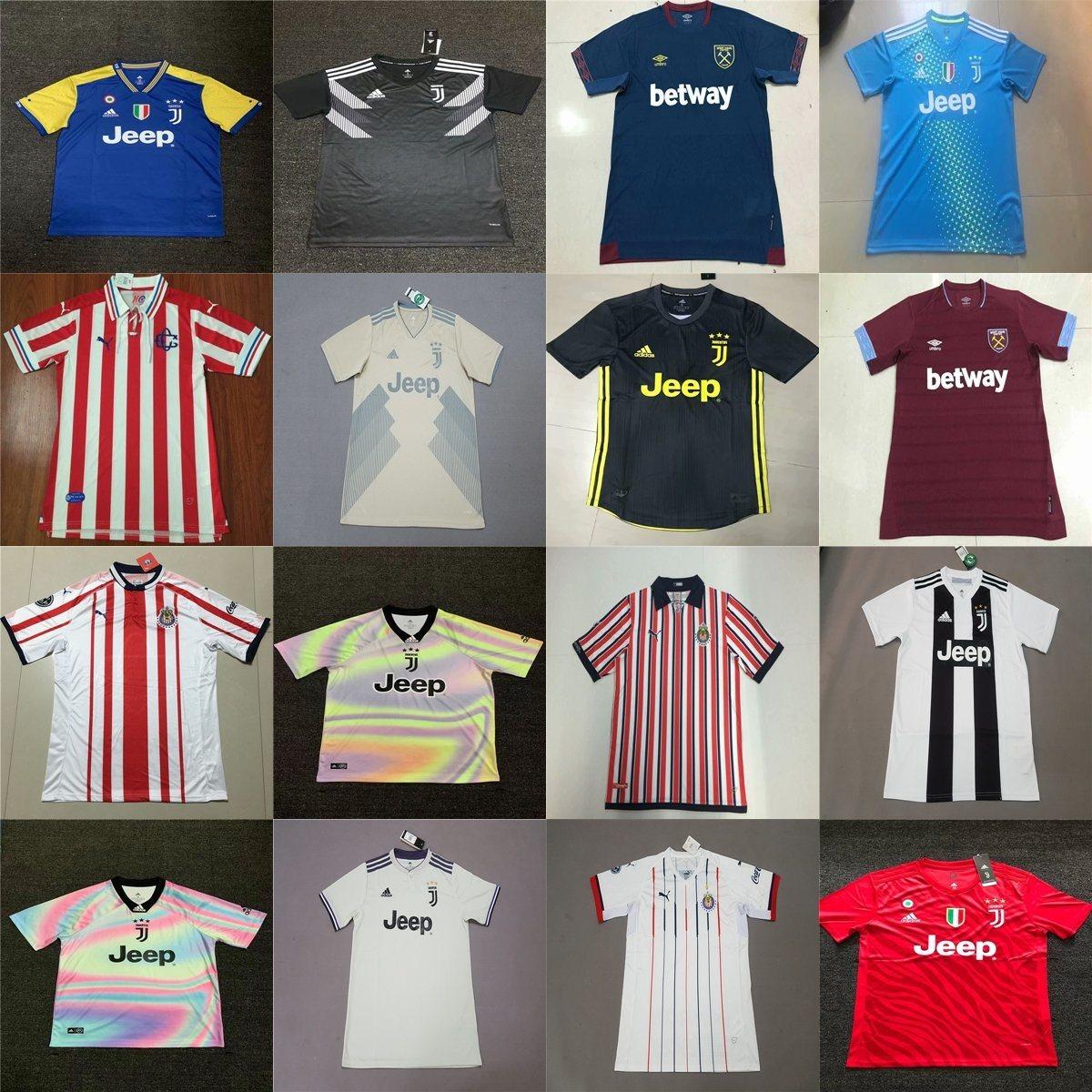new style 93754 ed8d2 [Hot Item] West Ham Juventus Chivas Home Away Third Football Soccer Jerseys