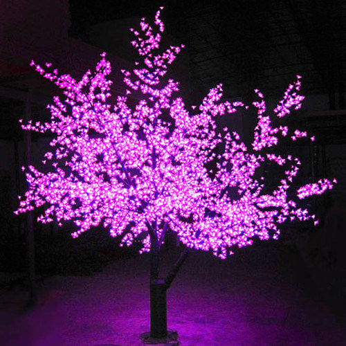 Decorative Led Light Artificial Trees For Landscape