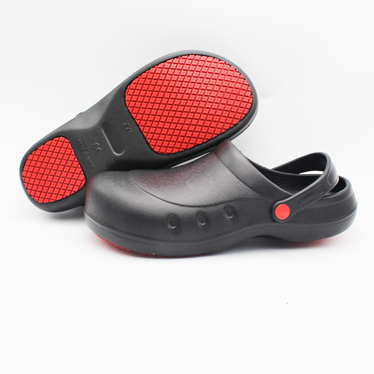 Kitchen Non-Slip Safety Shoes Slip on