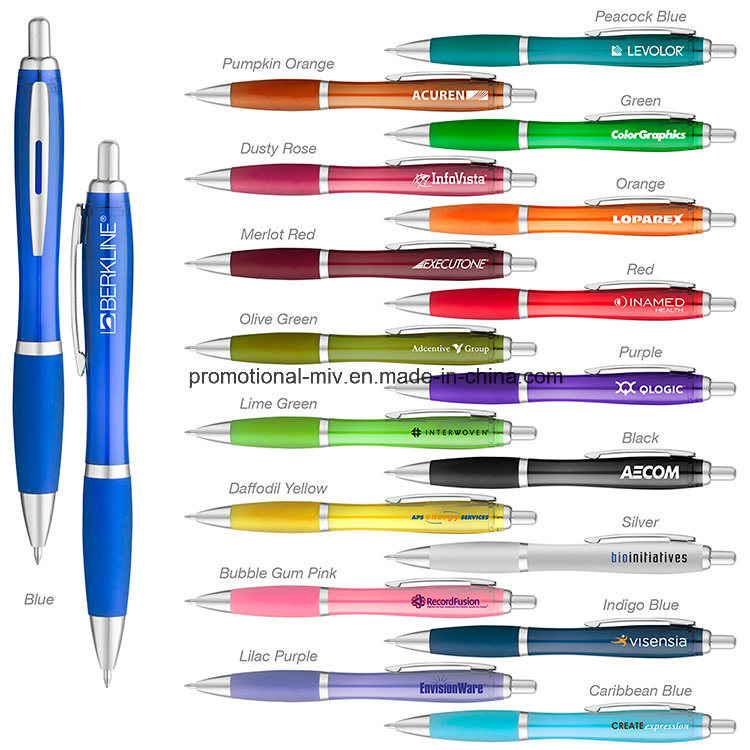 Translucent Plastic Ballpoint for Promotional Gifts