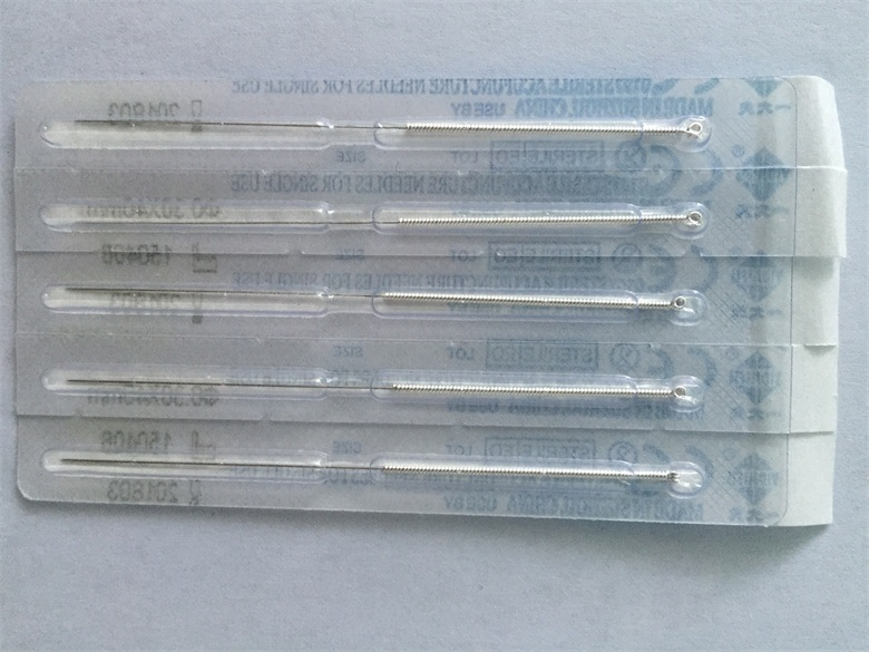 Disposable Needle Package Individual Without Guide Tube