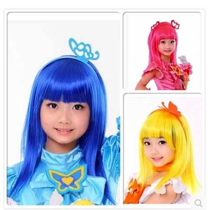 China Fashion Show Styles 100% Synthetic Hair Children′s Wigs ...