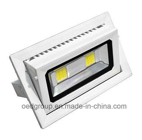 Charmant 30W Adjustable LED Rectangular Shop Light LED Down Light