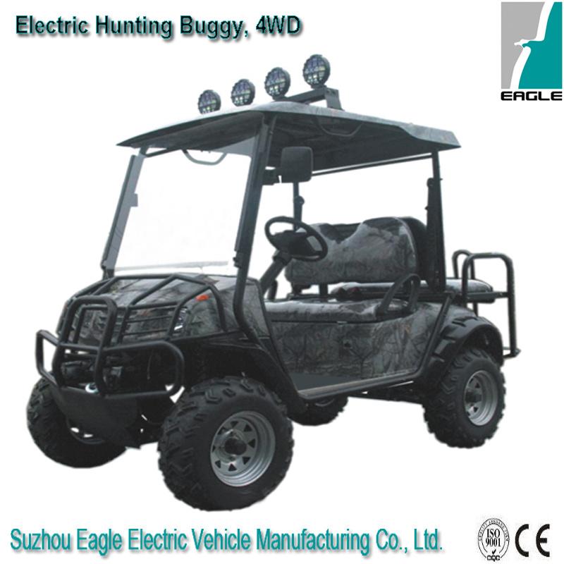 China Eg6020a4d 4 Wheel Drive Mini New Uiltility Golf Carts For