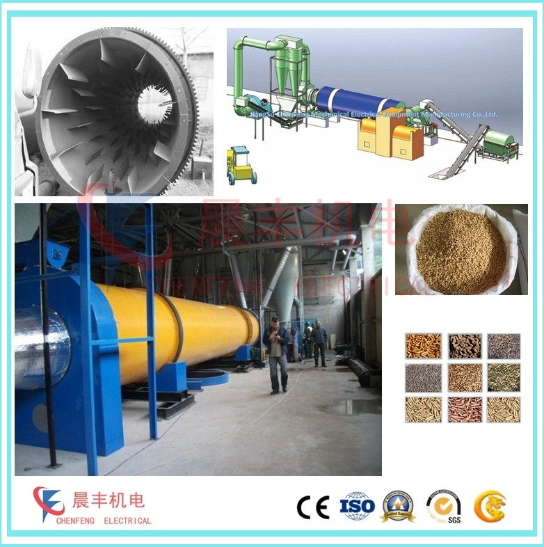 Industrial Drying Equipment for Animal Pellet Feed Processing