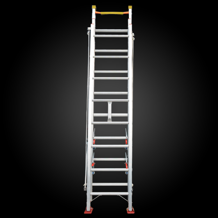 3 Sections Multi-Purpose Extention Firefighting Ladder