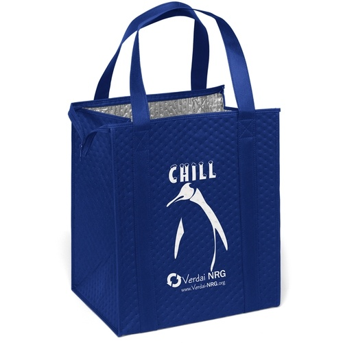 Non-Woven Insulated Thermal Tote promotional Shopping Cooler Bags