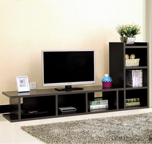 Modern Tv Stand With Bookcase