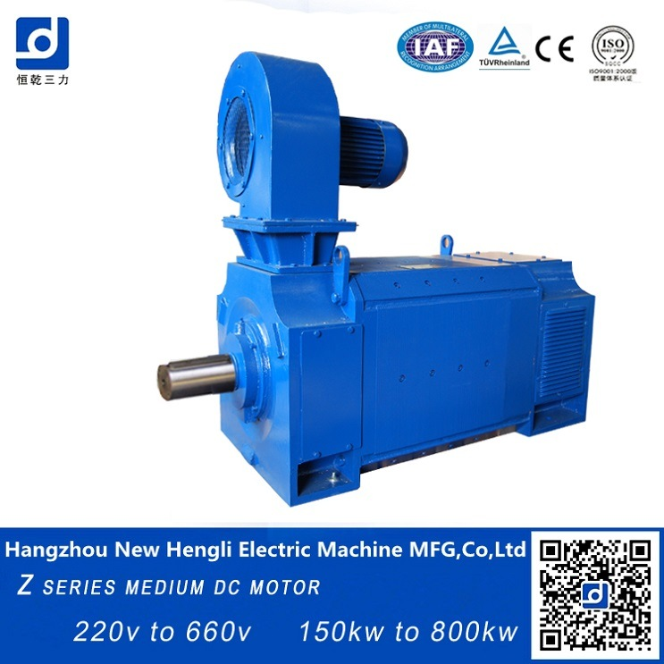 China NHL Z4 DC Motor High Rpm and Torque 80kw 100kw - China DC Motor 100kw, DC Motor 80kw